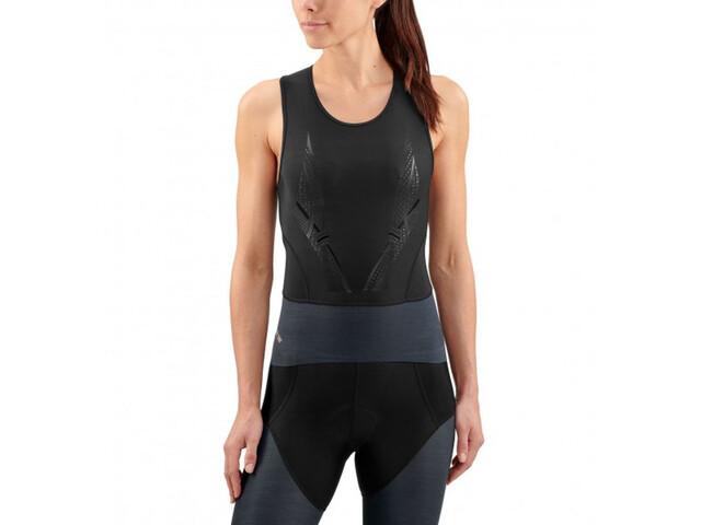 Skins DNAmic Triathlon Løbetræje ærmeløs Damer grå/sort | Tri og enkeltstart